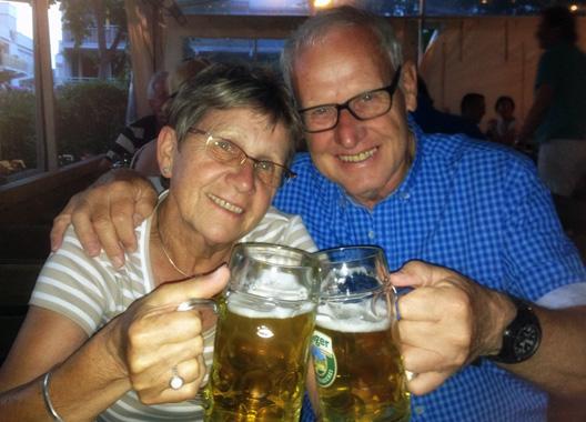 Münchens Biergärten - einfach gemütlich!